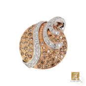 Купить <b>Подвеска</b> из красного золота 585 пробы с бриллиантом в ...