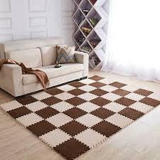 <b>Baby</b> Crawling Plush EVA Foam Puzzle Mat <b>Soft</b> Tile Kids <b>Play</b> ...