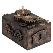 <b>Шкатулка с секретом Gearbox</b>, малая (артикул 7100) - Проект 111
