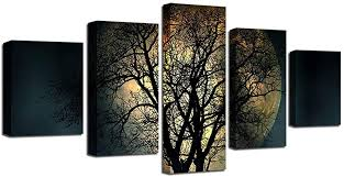 Poster HD Printing On Canvas Art Modular Frame 5 ... - Amazon.com