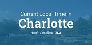 Current Local Time in Charlotte, North Carolina, USA