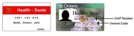 Image result for OHIP card
