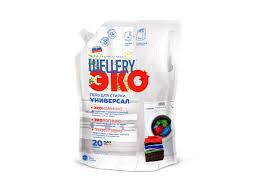 Гель <b>Wellery для</b> стирки <b>жидкий</b>, Универсал ЭКО, 1 л - купить в ...