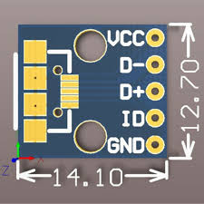 Other Integrated Circuits <b>5Pcs</b> Female <b>Micro USB</b> to DIP Adapter ...