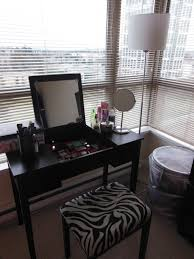 choosing bedroom makeup vanity table to improve your beauty and your room charming black wood charming makeup table mirror lights
