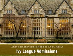 ivy league homeschool admissions yale university