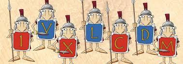Resultado de imagen de numeros romanos dibujos