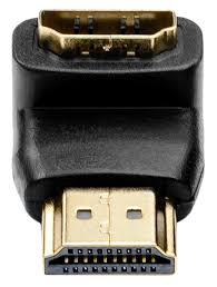угловой адаптер <b>ATcom</b> HDMI(m)-HDMI(<b>f</b>) угловой 90° по самой ...