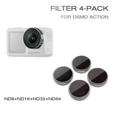 <b>STARTRC</b> ND Filter 4 Pack for OSMO Action Camera ND8/ND16 ...