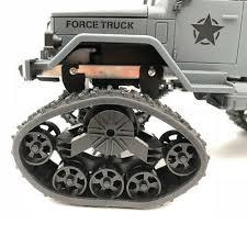 4PCS/Set RC Track <b>Wheel Snow Wheels</b> for 1/16 WPL <b>Military Truck</b> ...