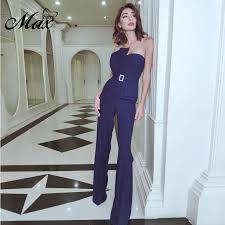<b>Max Spri 2019</b> New Fashion Pantsuit For Women Solid Color ...