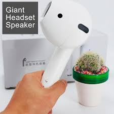 Giant <b>Bluetooth Speaker</b> Model Headphone Audio Creative ...