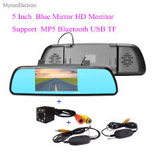 Bluetooth MP5 TF HD <b>5</b> inch <b>Touch Screen Car</b> Mirror monitor and ...