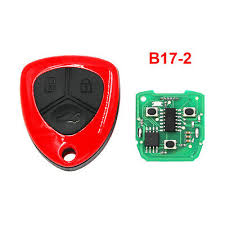 2 3 button car remote control key shell straight metal spare replacement suit for honda 2015 new fit binzhi xr v