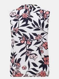 <b>Блузка Korpo Collezioni Шелковая</b> рубашка с цветочным узором ...