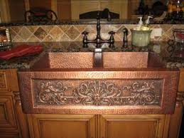 hammered copper kitchen sink: luxury copper kitchen sinks native trails