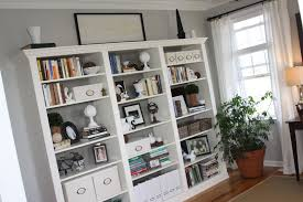 Living Room With Bookcase Built In Shelves For Living Room Living Room Built Ins Simple