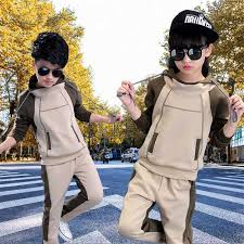 Girls suit spring and autumn <b>2019 new Korean fashion</b> boy sports ...