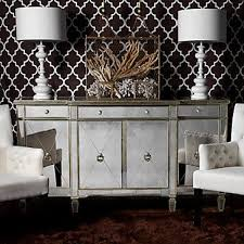 buffet wood trim and mirrored furniture on pinterest borghese furniture mirrored