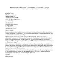 executive assistant cover letter sample experience resumes gallery of executive assistant cover letter sample