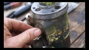 How to rebuild your <b>Hydraulic Steering pump</b> - YouTube