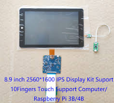 <b>8.9</b>inch TFTMD089030 <b>2K</b> HDMI <b>IPS Display</b> 2560*1600 MIPI LCD ...