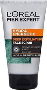 exfoliating face scrub