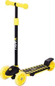 Купить <b>Самокат Ridex 3D</b> Spike детский 3-кол. желтый/черный ...