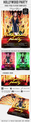 hollywood party flyer psd template facebook cover by hollywood party flyer psd template facebook cover