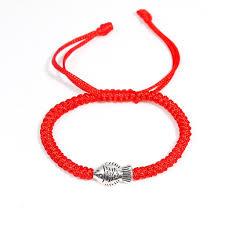 <b>Polyester Kabbalah Red String Braided</b> Friendship Bracelets ...