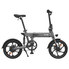 <b>HIMO Z16 Folding</b> Electric Bicycle 250W Motor Gray