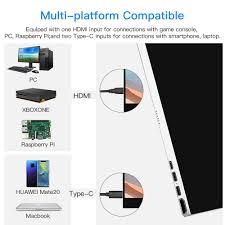 "Portable HDMI <b>Monitor</b>, <b>Eyoyo 15.6</b>"" <b>inch</b> Gaming <b>Monitor</b> ..."