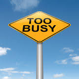 Image result for too busy life clipart