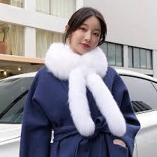 <b>ZDFURS* 2018</b> Girls <b>New</b> Hot Selling Fur Collar Scarf Natural Fur ...