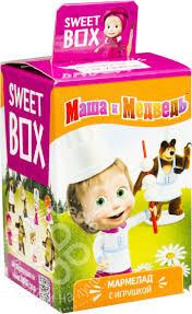 Отзывы о <b>Мармеладе Sweet</b> Box Маша и медведь с <b>игрушкой</b> 10г ...