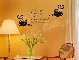 Big Coffee Sign Window <b>Wall Art</b> Sticker Decal <b>Fashion</b> Decoration ...