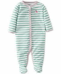 Carters <b>Baby Girls Fleece Romper</b> Baby Pink 18 Months ** Click on ...