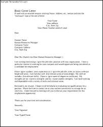 basic cover letter pdf template free download   sample templatesbasic cover letter pdf template free download