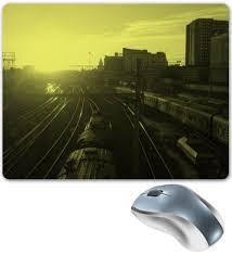 """Коврик для мышки """"""""Поезда"""""""" #223432 от adrenalin9 - <b>Printio</b>"""