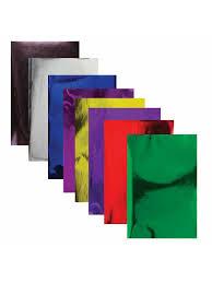 <b>Цветная бумага</b> А4 зеркальная, 8 листов 8 цветов, 80 г/м2 ...