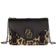 Onorner <b>Women</b> Plush Crossbody <b>Bag Vintage</b> Leopard <b>Handbag</b> ...