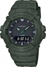 Мужские <b>часы Casio</b> G-Shock <b>G</b>-<b>100CU</b>-<b>3A</b> (Япония, кварцевый ...