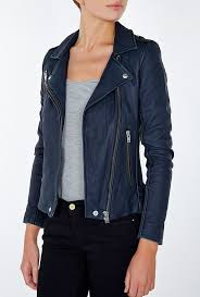 <b>Image</b> result for outfit with dark blue jacket | <b>Navy</b> leather jacket, Blue ...
