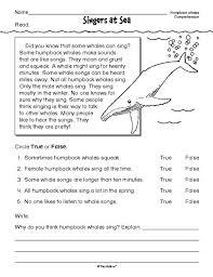 1000+ ideas about Reading Comprehension Worksheets on Pinterest ...Worksheet Nonfiction, Nonfiction Whales, Reading Comprehension Worksheet, Mailbox Free, The Mailbox, Whale Worksheets, Waqas, Whale Activities, ...