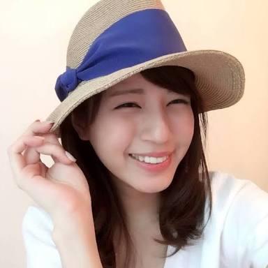 帽子の堤アナ