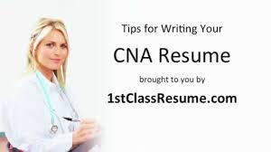 cna resume writing tips cna resume writing tips