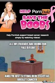Breast Cancer Awareness Memes. Best Collection of Funny Breast ... via Relatably.com