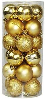 Buy Beauenty -<b>24PCs 4CM Christmas Tree</b> Balls Decorations ...