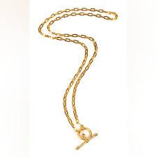 <b>Ben</b>-<b>Amun Позолоченное</b> ожерелье золото | the urge RU