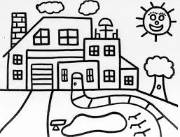 Small Picture Adult house coloring pages House Coloring Pages To Print House
